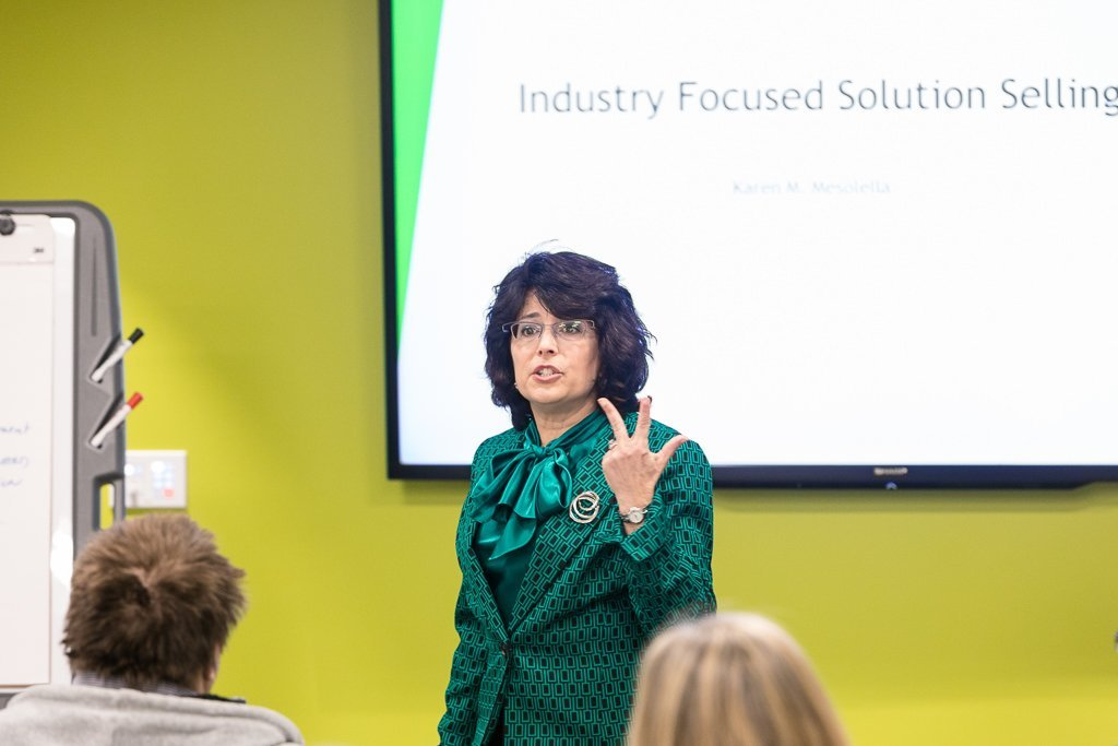 Solution Selling with Karen Mesolella