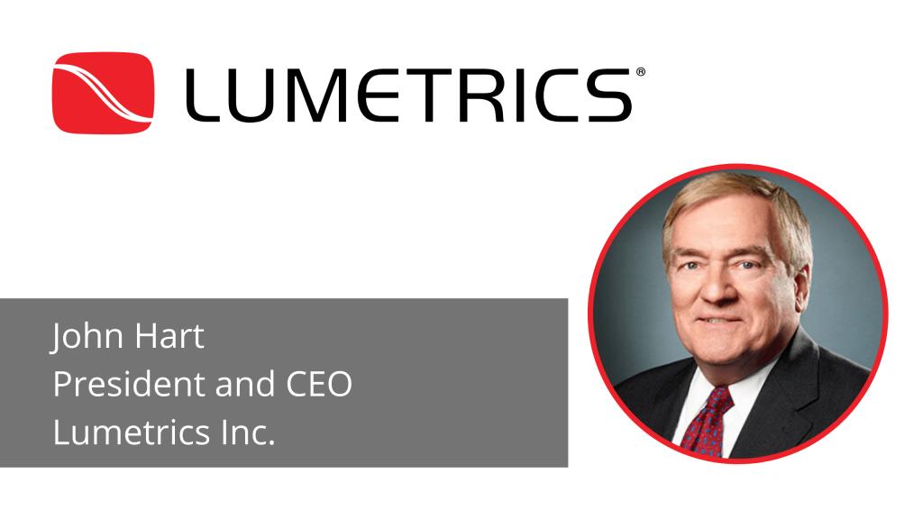 CEO Spotlight John Hart Lumetrics