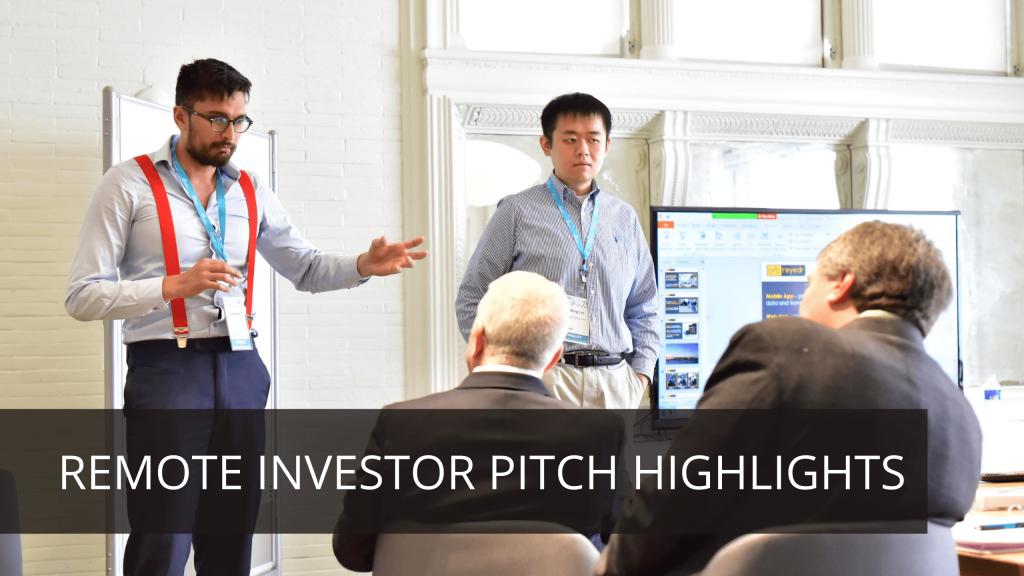 remote investor pitch highlights