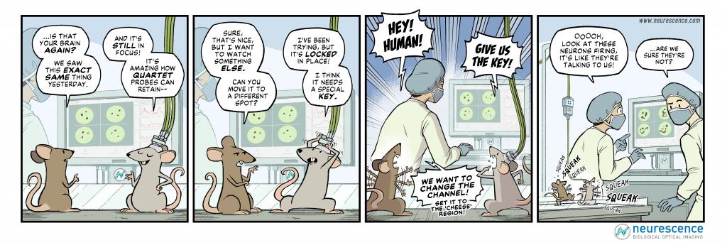 Neurescence comic strip mice