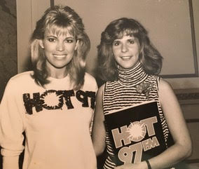 Sandy Sloane and Vanna White