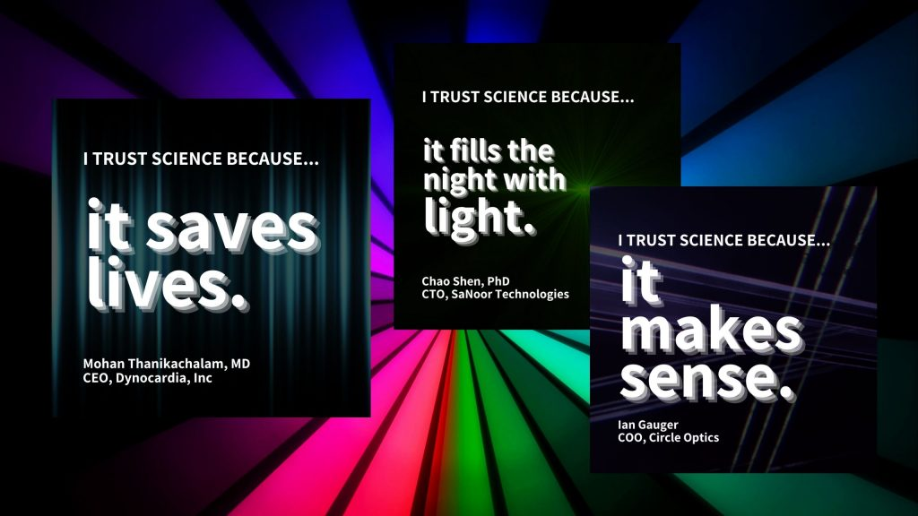 International Day of Light I Trust Science Because